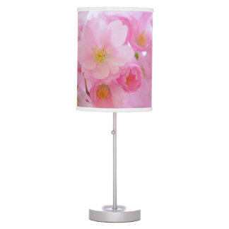 Wonderful Pink Japanese Cherry Blossom Desk Lamp