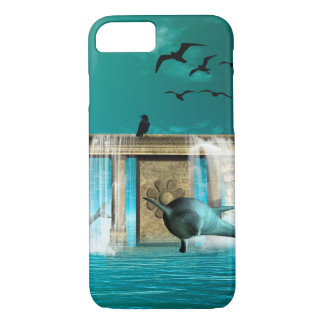 Wonderful playing dolphins iPhone 8/7 case