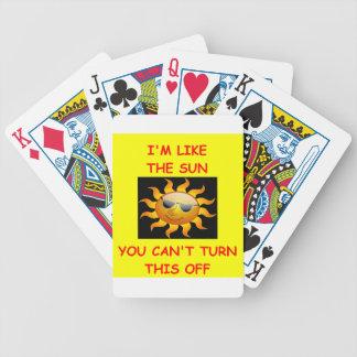 wonderful bicycle playing cards