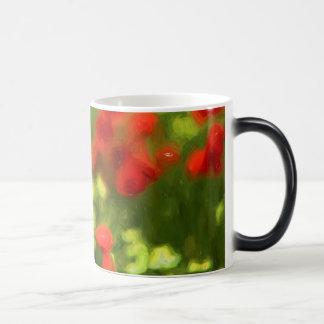 Wonderful poppy flowers VI - Wundervolle Mohnblume Magic Mug