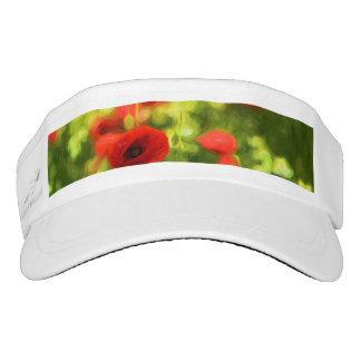 Wonderful poppy flowers VI - Wundervolle Mohnblume Visor