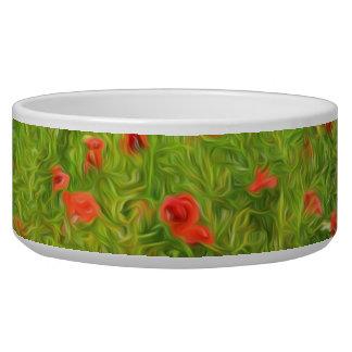 Wonderful poppy flowers VII - Wundervolle Mohnblum Bowl