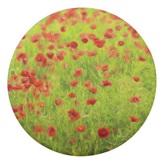 Wonderful poppy flowers VIII - Mohnbluhmen Eraser