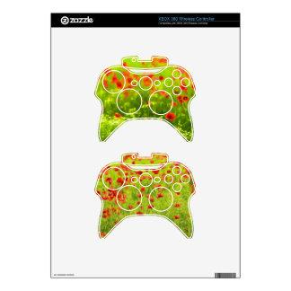 Wonderful poppy flowers VIII - Wundervolle Mohnblu Xbox 360 Controller Skin