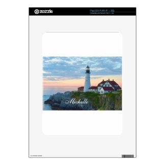 Wonderful Portland Lighthouse Decal For iPad