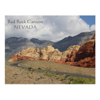Wonderful Red Rock Canyon Postcard! Postcard