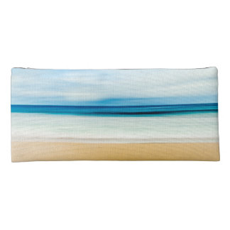 Wonderful Relaxing Sandy Beach Blue Sky Horizon Pencil Case