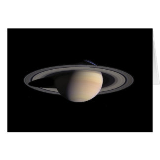 Wonderful Saturn Picture from NASA Card