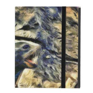 Wonderful Sea Lion iPad Case