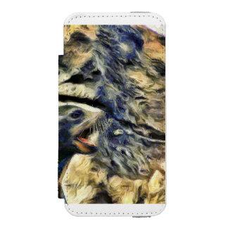 Wonderful Sea Lion iPhone SE/5/5s Wallet Case