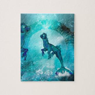 Wonderful seahorse jigsaw puzzle