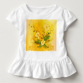 Wonderful soft yellow flowers toddler t-shirt