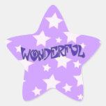 Wonderful Star Stickers