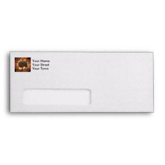 Wonderful  steampunk Skull Envelope