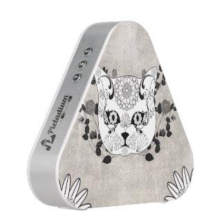 Wonderful sugar cat skull bluetooth speaker