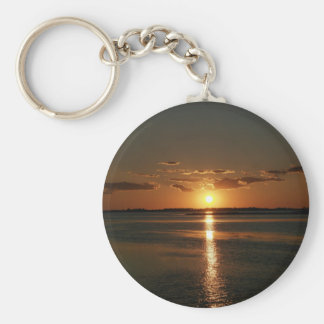 Wonderful Sunset Keychain