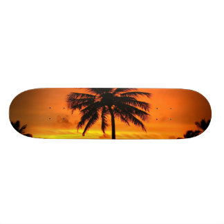 Wonderful Sunset Skateboard