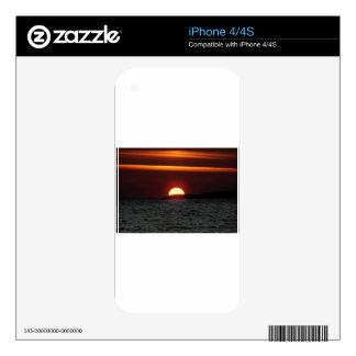 Wonderful Sunset iPhone 4S Decal