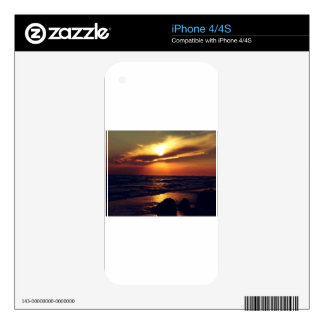 Wonderful Sunset Decals For The iPhone 4