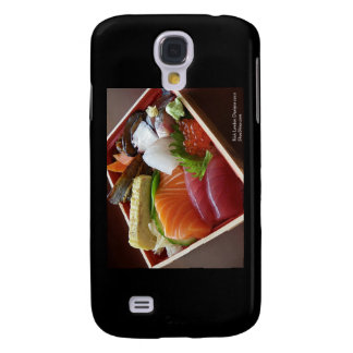 Wonderful Sushi Plate On Cards & Gifts Galaxy S4 Case