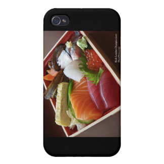 Wonderful Sushi Plate On Cards & Gifts iPhone 4/4S Case