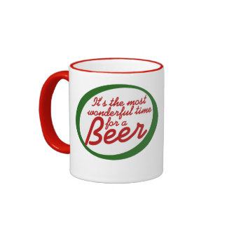 Wonderful time for a beer ringer coffee mug