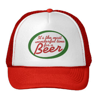 Wonderful time for a beer trucker hat