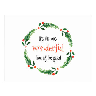 Wonderful Time of the Year | Postcards