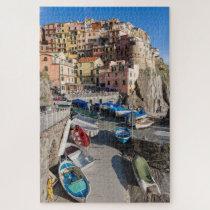 Wonderful view of Manarola, Cinque Terre, Italy Jigsaw Puzzle