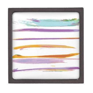 Wonderful watercolor brushes design premium keepsake box