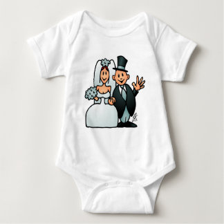 Wonderful Wedding Baby Bodysuit