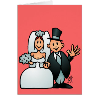 Wonderful Wedding Card