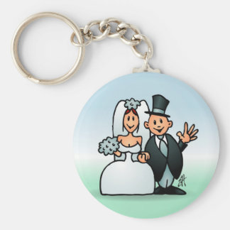 Wonderful Wedding Keychain