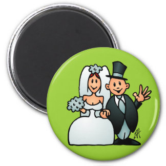 Wonderful Wedding Magnet
