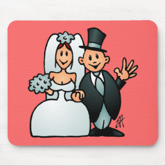 Wonderful Wedding Mouse Pad
