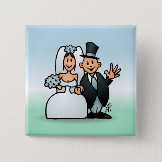 Wonderful Wedding Pinback Button