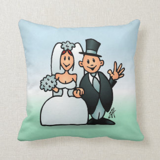 Wonderful Wedding Throw Pillow