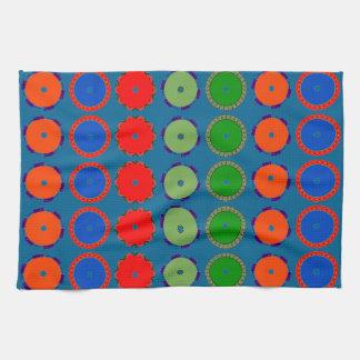 Wonderful Wheel Design on Hand/Kitchen Towel