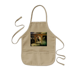 Wonderful wild horse kids' apron