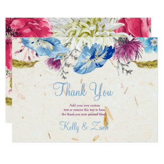 Wonderful Wildflowers Thank You Cards