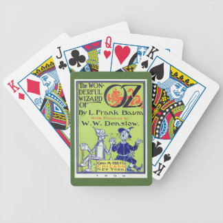 Wonderful Wizard of Oz Bicycle Playing Cards