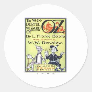 Wonderful Wizard Of Oz Classic Round Sticker