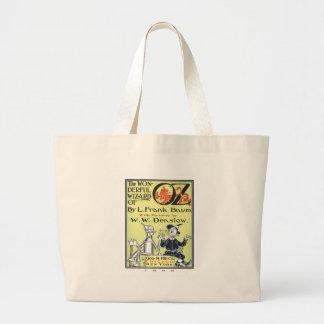 Wonderful Wizard Of Oz Large Tote Bag