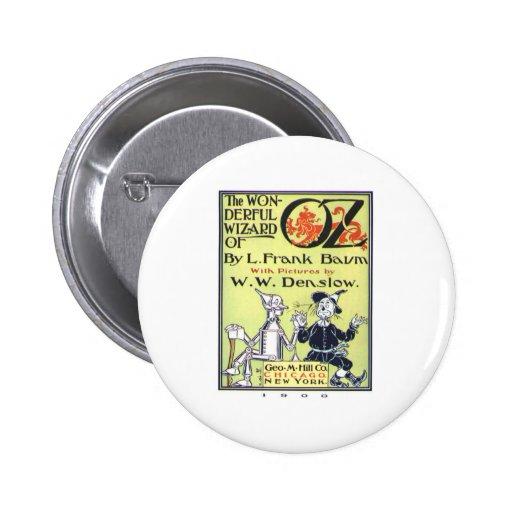 Wonderful Wizard Of Oz Pinback Buttons