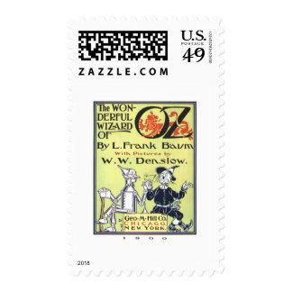 Wonderful Wizard Of Oz Postage Stamps