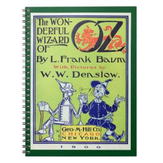 Wonderful Wizard of Oz Spiral Notebook