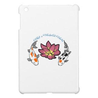 WONDERFUL WORLD APPLIQUE iPad MINI COVER