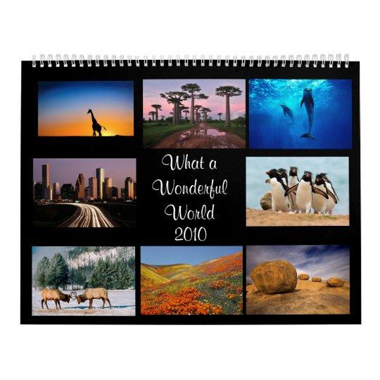 Wonderful World Calendar