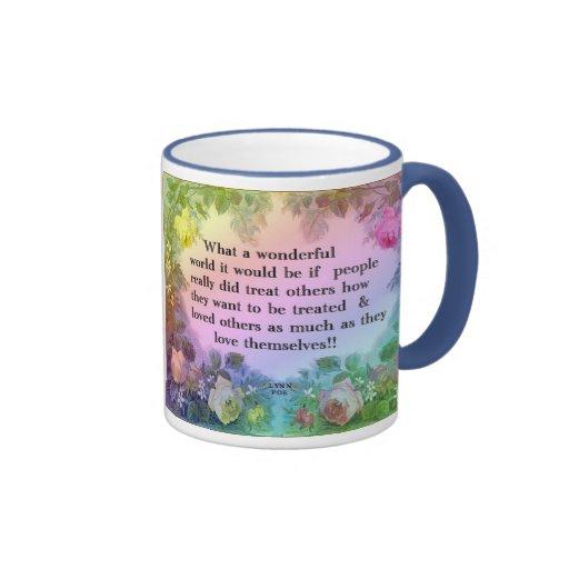 Wonderful World Mug
