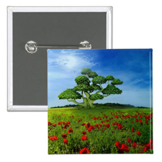 Wonderful World Pinback Button
